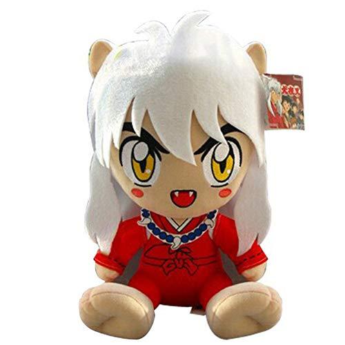 GrandToyZone DOLL SERIES 30cm (11.8 inch) Inuyasha Soft Plush Figure / 2 Style (A) (Inuyasha Box Set Blu Ray)