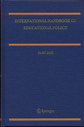 International Handbook of Educational Policy (Springer International Handbooks of Education) (v. 1&2)