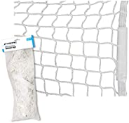 """CHAMPRO Replacement Hockey Net 54""""x 44"""", Wh"""