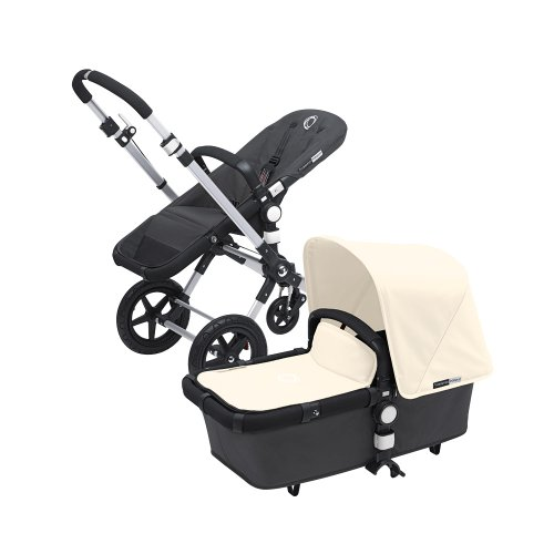 Cheap Bugaboo Cameleon 3 with Dark Grey Base and Multiple Color Options (Off White)