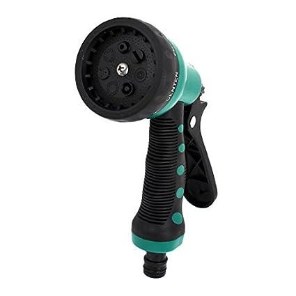 Amazon.com: eDealMax Garden 7 modelli di spruzzo tubo ugello spruzzatore dellacqua Della Testa di spruzzatore: Home & Kitchen