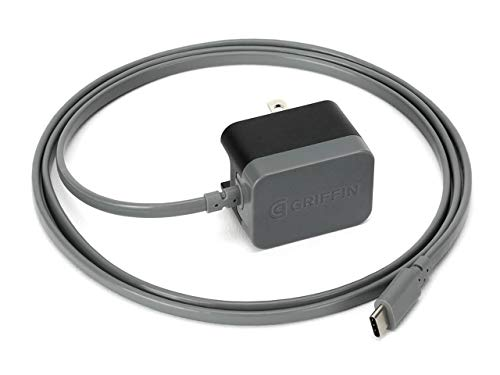 Griffin USB-C PowerBlock SE Wall Charger with Attached Cable