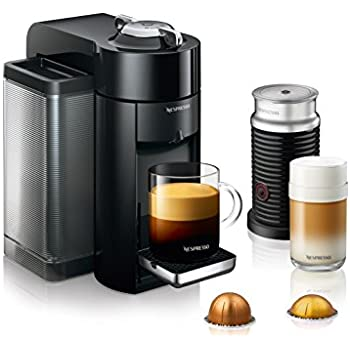 nespresso vertuo coffee and espresso machine bundle with aeroccino milk frother by. Black Bedroom Furniture Sets. Home Design Ideas