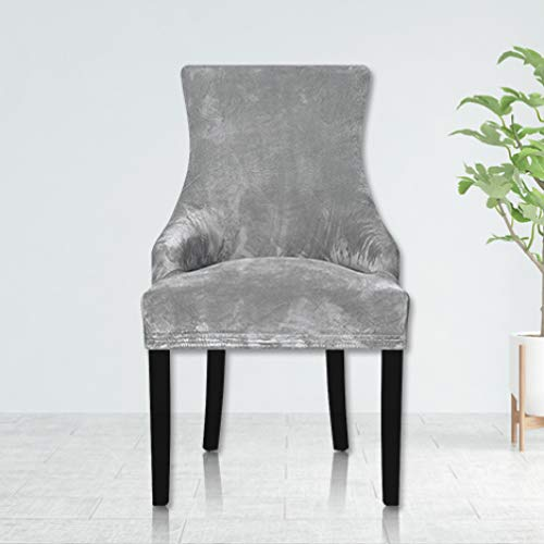 Amazon.com: STOCO - Funda para silla, de terciopelo, suave ...