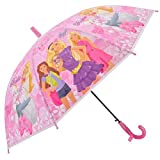 SQUICKLE PVC Special Design Umbrella with Whistle for Girls (Color As Per Available)