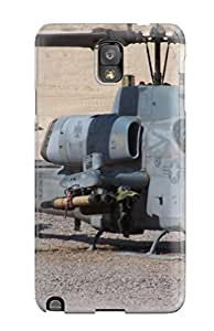 Galaxy Note 3 Case Cover - Slim Fit Tpu Protector Shock Absorbent Case (ah-1 Cobra Gunship)