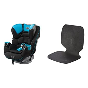 Evenflo SafeMax Platinum All In One Convertible Car Seat Marshall With Undermat