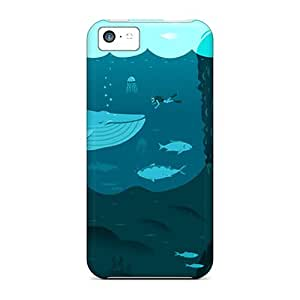 LastMemory Case Cover For Iphone 5c Ultra Slim Case Cover