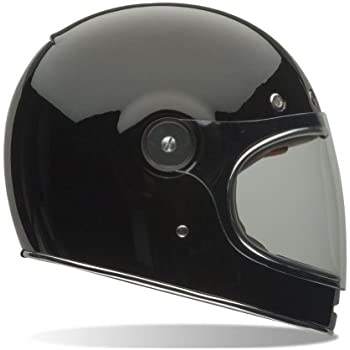 Bell Bullitt Unisex-Adult Full Face Street Helmet (Solid Gloss Black, Large)