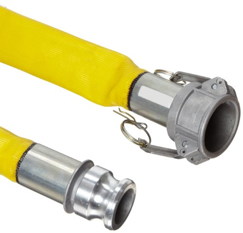 Suction Goodyear Hose (Goodyear EP Spiraflex Yellow PVC Suction/Discharge Hose Assembly, 3