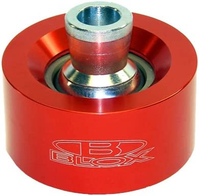 Blox Racing BXSS-20301-RD Red Front Spherical Lower Control Arm Bearing Kit for Honda Civic//EP3