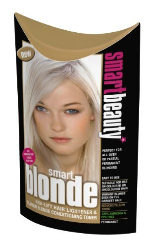 Smart Blonde High-lift Hair Lightener & Platinum Blonde Conditioning (Hair Lightener Kit)
