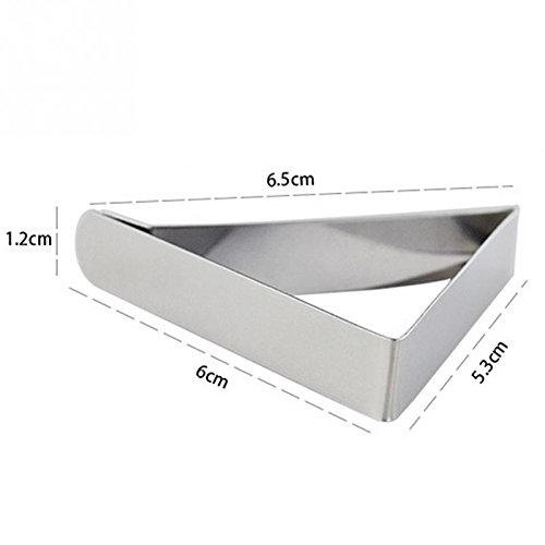 GSN Stainless Steel Tablecloth Cover Clips Triangle Table Cloth Holder Wedding Prom Tablecloth Clamps Practical Party Tools by GSN