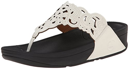 f57672c02544e3 Galleon - FitFlop Women s Flora Flip Flop