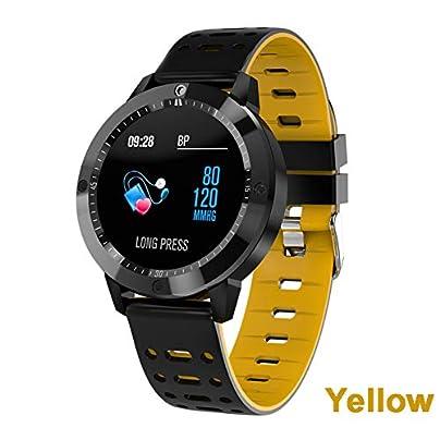 ZCPWJS smart wristband CF58 Fitness Bracelet Waterproof Smart Watch Activity Multi Sports modes Men women Heart rate monitor Smartwatch Yellow Estimated Price £51.99 -