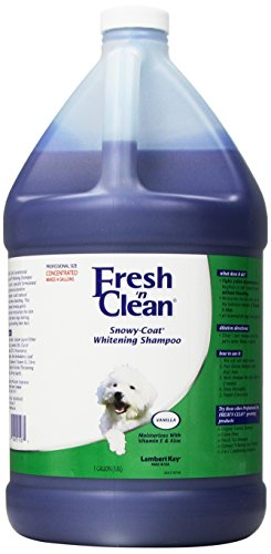 Fresh'n Clean Snowy-Coat Pet Shampoo, 1-Gallon