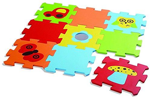 Edushape Baby Edu Tiles Puzzles, 9 (Edushape Floor Puzzle)