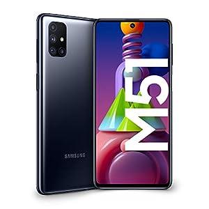 "Samsung Galaxy M51, Smartphone, Display 6.7"" Super AMOLED Plus, 4 Fotocamere, 128GB Espandibili, RAM 6 GB, Batteria 7000 mAh, 4G, Dual Sim, Android 10, [Versione Italiana], Black, Esclusiva Amazon 7"