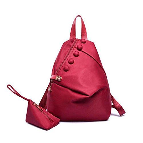 30 43 Anti Bags Waterproof Bag amp;F Handbag Casual Y Lady Red Bags Theft Cm Shoulder Shoulder Package 16 fOSnZxBZ