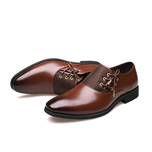 Phil Betty Men Business Dress Loafers - Luxury Pointy Breathable Formal Wedding Oxford Shoe -