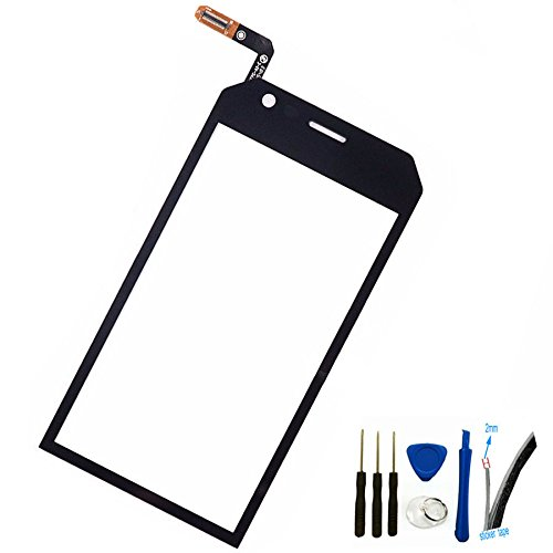 S30 Replacement - Digitizer touch screen Glass Panel cover For Caterpillar CAT S30 4.5'' Replacement