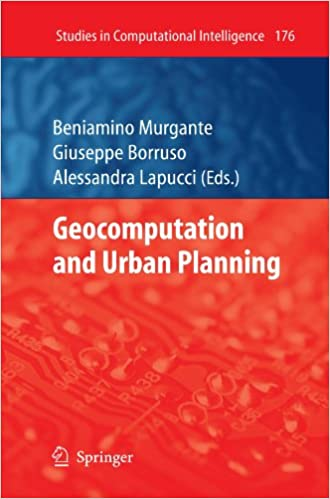 Book Geocomputation And Urban Planning (Studies In Computational Intelligence)