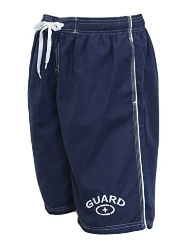 Adoretex Mens Guard Board Short Swimsuit (MG001) - Navy - XXX-Large