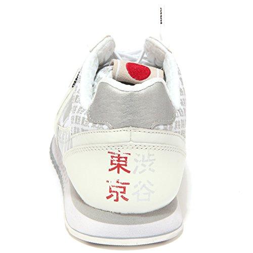 S2991 Tokyo Basse Sneakers Shibuya Lotto Uomo Bianco Leggenda w7qgP7XnI