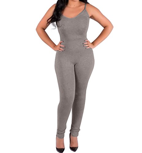 Yizenge Spaghetti Bodycon Jumpsuits Playsuit product image