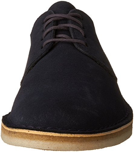 Desert London Oxford Shoe Suede Clarks Midnight x7pOzFOS
