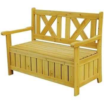 Attractive Leisure Season SB6024 Bench With Storage