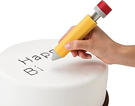 Monkey Business Write On Icing Decorating Tool, Creative Frosting or Piping  on Cakes, Cookies, Cupcakes