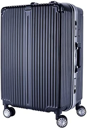 Color : Black, Size : S GaoMiTA Trolley Universal Wheel Aluminum Frame 360 Degree Mute Caster Luggage Student
