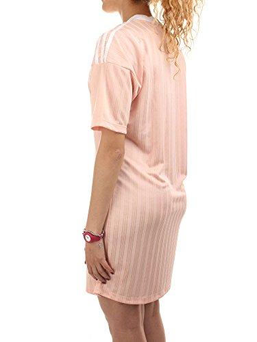 Rosa 8 Bianco Vestito M Formato Trifoglio Usa Uk medio Adidas 12 OnfqSw
