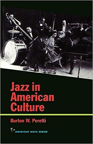 Jazz in American Culture (American Ways Series)