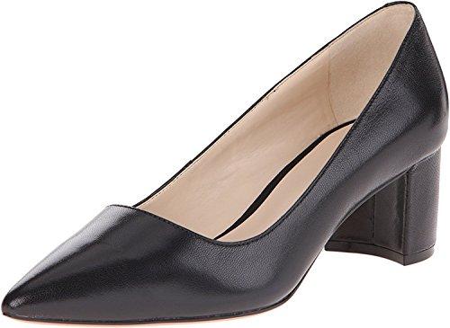 Nine West Womens Ike, Black Leather, 38 B(M) EU/6 B(M) UK
