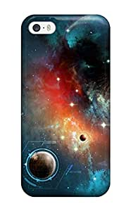 Premium Tpu Space Horizon Cover Skin For Iphone 5/5s