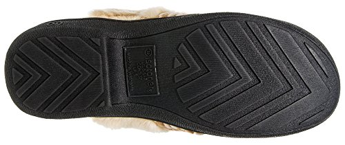 Isotoner Women's Microsuede Erica Clog Buckskin Small 6.5-7 by ISOTONER (Image #6)