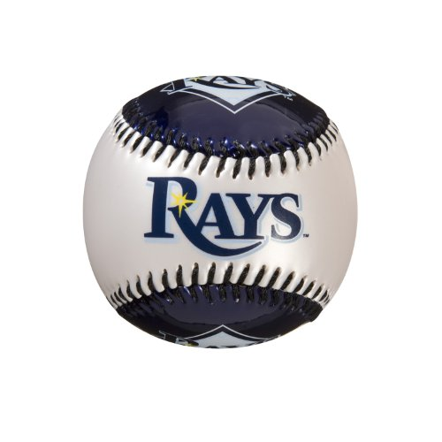 Franklin Sports MLB Tampa Bay Rays Team Softstrike Baseball (Devil Rays Baseball Team)