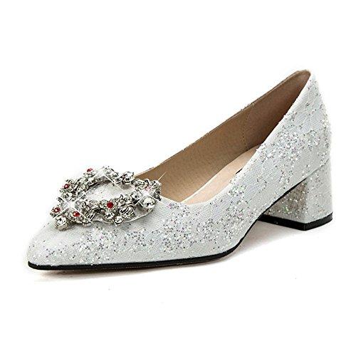 5 5 Uk4 Bridesmaid Shoes Shoes SDUDIO Sharp and 5Cm Women's FANG wPzqOfq