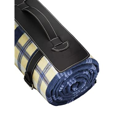 Freddie and Sebbie Outdoor Blanket - Luxury Large Oversized Foldable Picnic Blanket With Waterproof Backing - Extra Large Mat & Washable (70  x 56 ) - Perfect For Picnics, Beach, Baby, Travel, Camping & Hiking, Sporting, Events, Park & Nursery