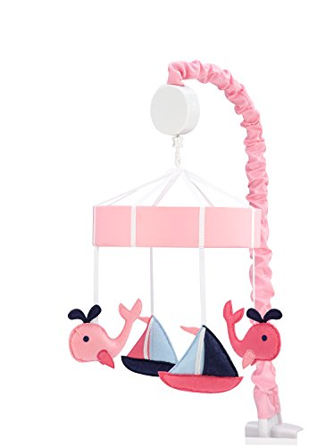 Sadie & Scout Nautical Girl Mobile (Sailboat Crib Mobile compare prices)