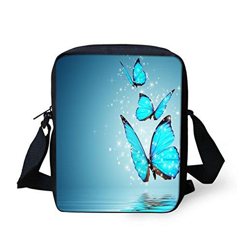 for Bags Girl Mini Handbags Print IDEA Butterfly Crossbody HUGS Butterfly5 Women HwF0X0