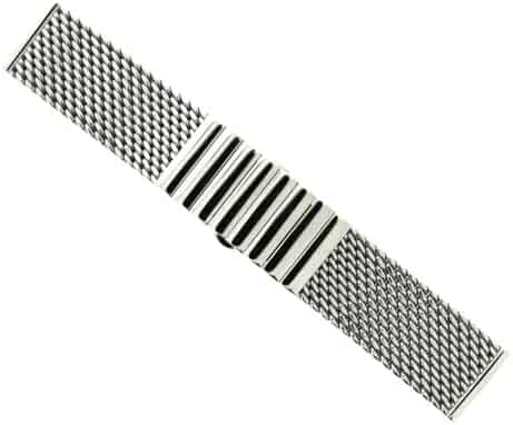 HDT Hermann Staib Mesh Bracelet w/ Push Buckle [24mm width, 150mm length]