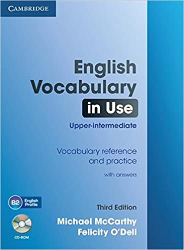 English Vocabulary In Use Upper Intermediate With Answers And Cd Rom