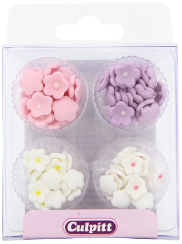 Sugar Icing Flowers - Mini Daisy Sugar Decorations - Assorted