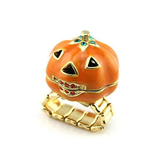 Halloween Fashion Pumpkin ring Jewelry(Automatic - Pumpkin Ring