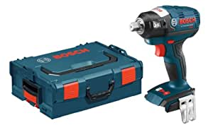 Bosch IWBH182BL Bare-Tool 18-volt Brushless 1/2-Inch Pin Detent Impact Wrench with L-Boxx-2 and Exact-Fit Tool Insert Tray