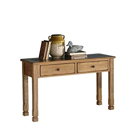 Amazon progressive furniture rustic ridge sofa table light oak progressive furniture rustic ridge sofa table light oakslate watchthetrailerfo