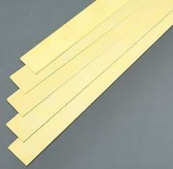 K&S Precision Metals 9715 Brass Strip, 0...